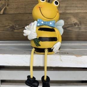 Resin Bee Happy Shelfsitter