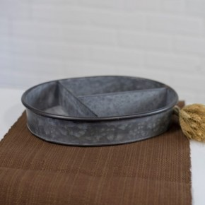 METAL TRAY W/ DIVIDERS