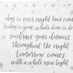 Day Is Over Pillowcase