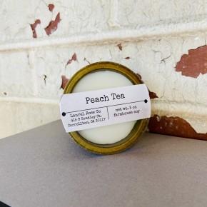 Sugar Mold Candle Cup- Peach Tea