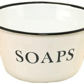 Enamelware Soaps Bowl