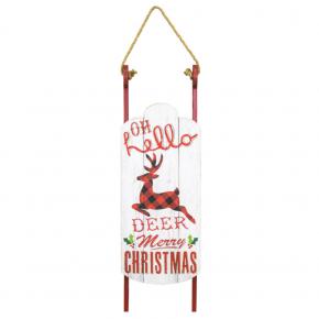 Hello Deer Sled Hanger