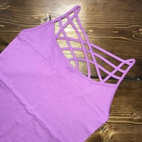 Lavender Criss Cross Cami