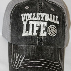 Volleyball Life  Vintage Hat