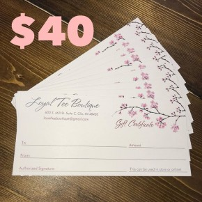 $40 Gift Certificate to LTB