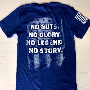 NINE LINE No Guts No Glory - Royal Blue