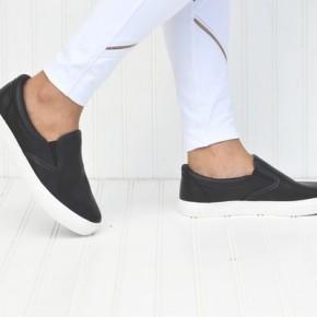Black Slip On Loafer