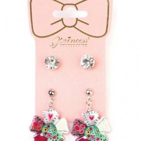 Kids 2 Pack Stud and Flower Earrings