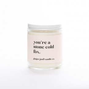 """""""You're A Stone Cold Fox"""" Jar Candle"""