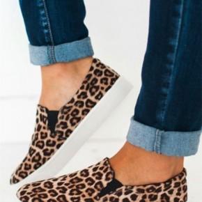 Cheetah Slip On Shoe