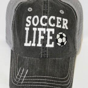 Soccer Life Mesh Hat