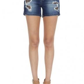 Judy Blue Leopard Shorts 696