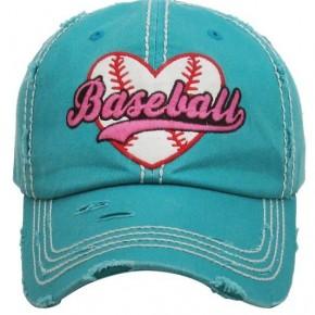 Baseball Vintage Hat - Teal