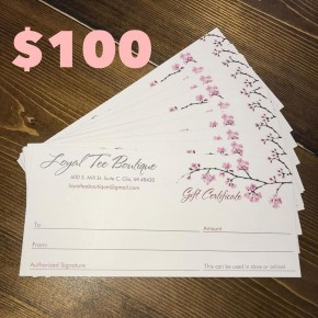 $100 Gift Certificate to LTB