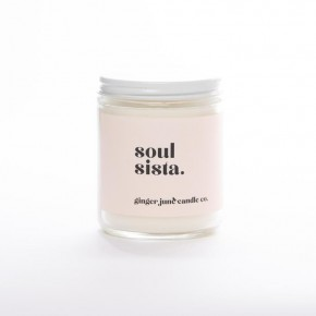 """Soul Sista"" Jar Candle"