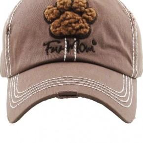 Fur Mom Vintage Hat - Brown