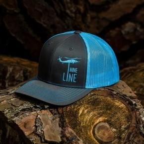 NINE LINE Dropline Snap Back Hat Blue