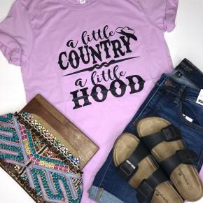 A Little Country, A Little Hood Tee