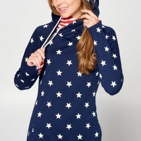 Navy Stars and Stripes Hoodie