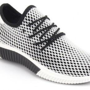 Black and White Mesh Sneaker