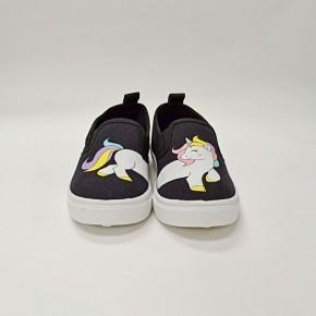 Toddler/Youth Unicorn Slip On Shoes