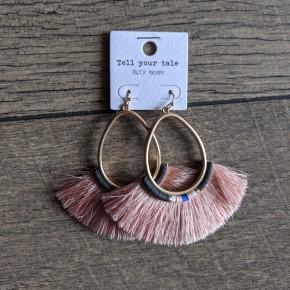 pink lady fridge earring