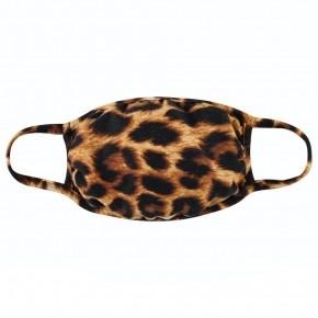 cheetah face covering