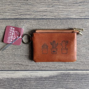 cactus coin purse