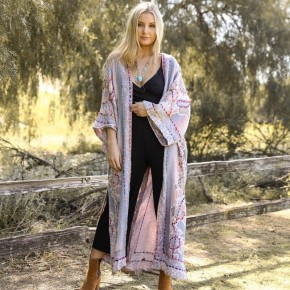 Cassie boho kimono
