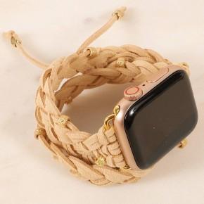 braided iPhone watch