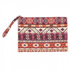 Aztec travel pouch