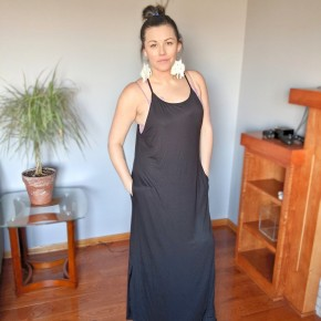 mitsy maxi basic dress