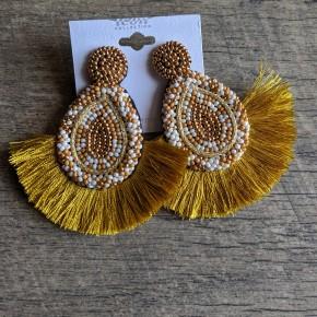 golden goddess earring
