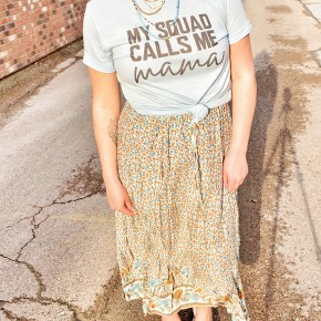 Mary Kate floral skirt