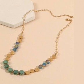 aqua babe necklace