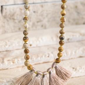 western tassel necklace