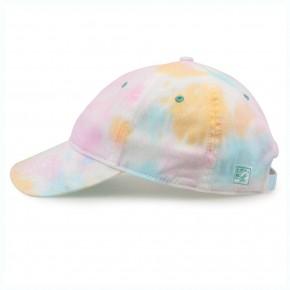 summertime tie die baseball cap