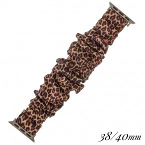 large scrunchie iPhone watch band