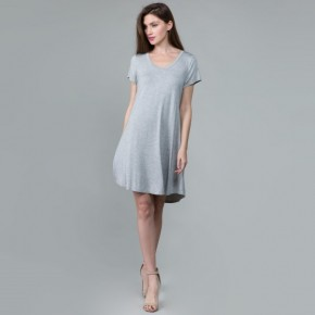 basic babe grey dress