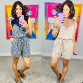 Can't Hardly Wait Romper