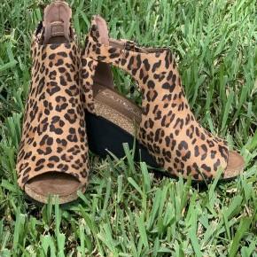 Leopard Sunburst Shoes