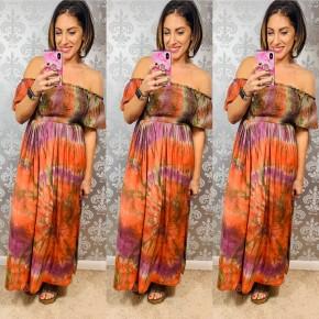 Olive Dream in Color Midi Dress