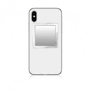 Clear Square Phone Mirror