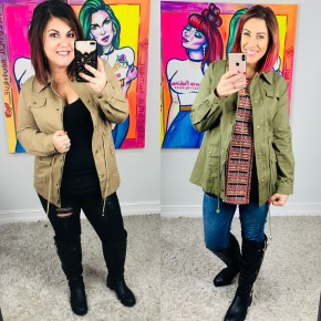 Black Friday Super Deal: On My Way To You Jacket