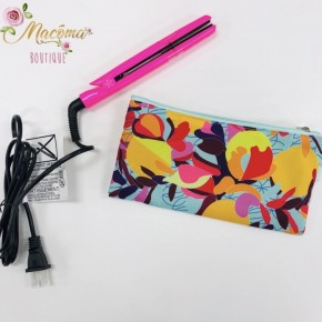 Mini Flat Iron with Carrying Bag