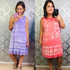 Tide Away Tie Dye Dress