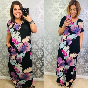 Palms and Kisses Dress