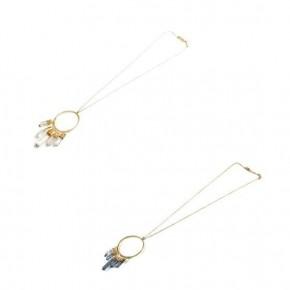 Quartz Drop Necklaces