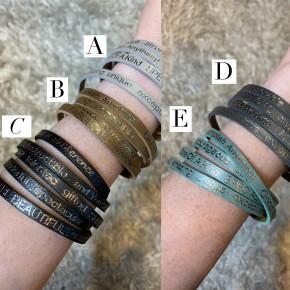 You are Beautiful Wrap Around Bracelets