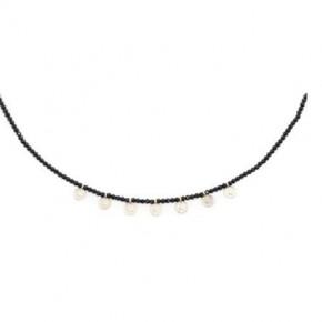 Money Honey Black Choker Necklace